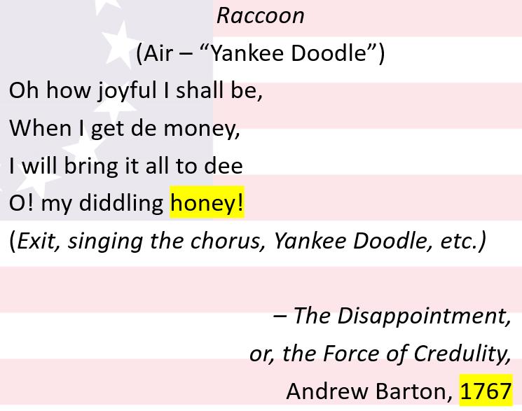 Yankee Doodle 1767